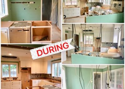 Grosse Pointe Shores - Kitchen - During