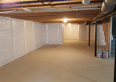 Macomb - Basement - Before 2